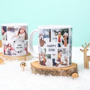 Een mooie kerstmok met je eigen afbeelding of logo. HB-Creations Tilburg (Reeshof)
