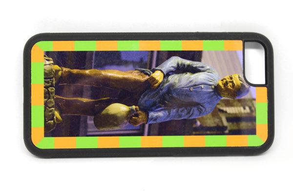 De Kruikenzeiker van Kruikenstad op een iphone hoesje. HB-Creations Tilburg Reeshof