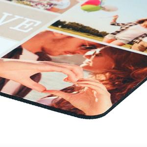 Muismat 20 x 20 cm bedrukt in full colour. Eigen foto of afbeelding. HB-Creations Tilburg Reeshof