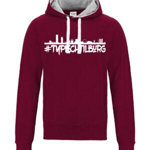 Hoodie Skyline Tilburg AWDis Chuncky. HB-Creations Tilburg Reeshof.