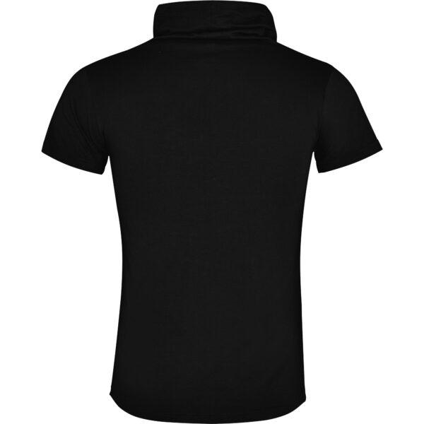 Modern shirt met col en korte mouwen. Bedrukt met de tekst Tilburg anno 1809. HB-Creations Tilburg Reeshof