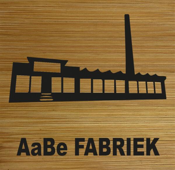 Onderzetter AaBe Fabriek. HB-Creations Tilburg Reeshof