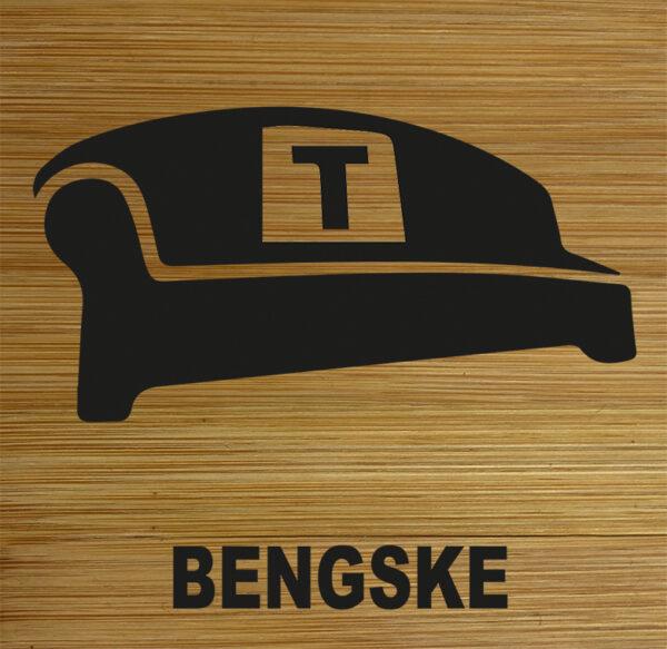 Onderzetter Bengske. HB-Creations Tilburg Reeshof