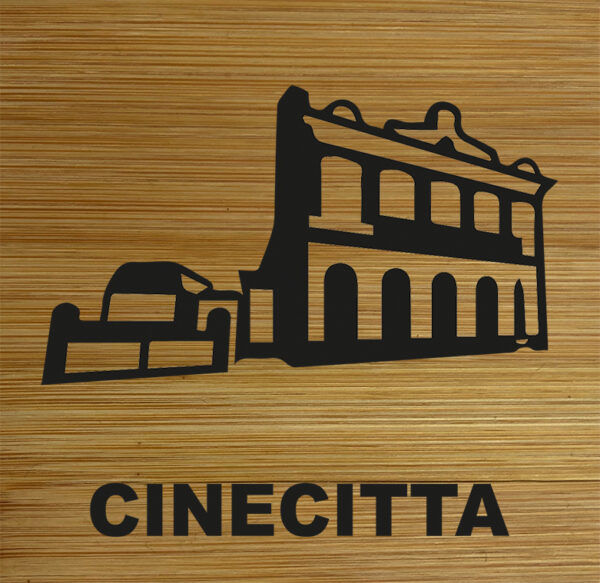 Onderzetter Cinecitta HB-Creations Tilburg Reeshof