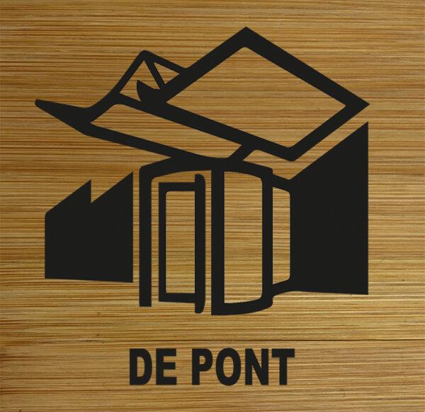 Onderzetter De pont. HB-Creations Tilburg Reeshof