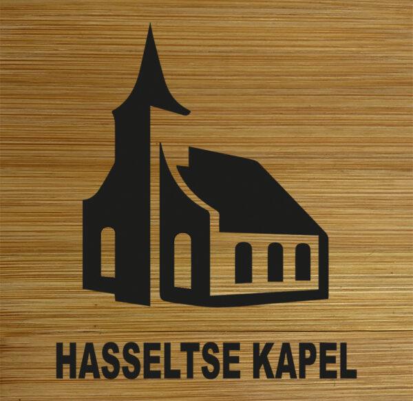 Onderzetter Hasseltse Kapel. HB-Creations Tilburg Reeshof