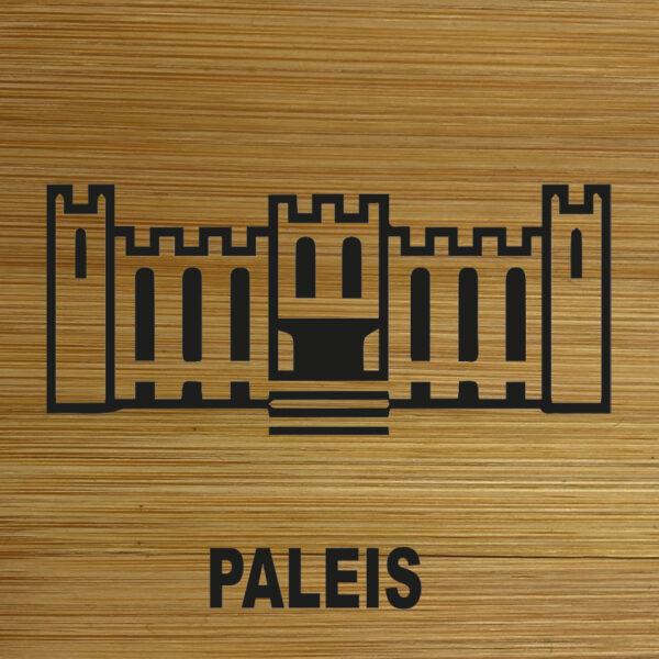 Onderzetter Paleis TilburgsAns Pictogram . HB-Creations Tilburg Reeshof